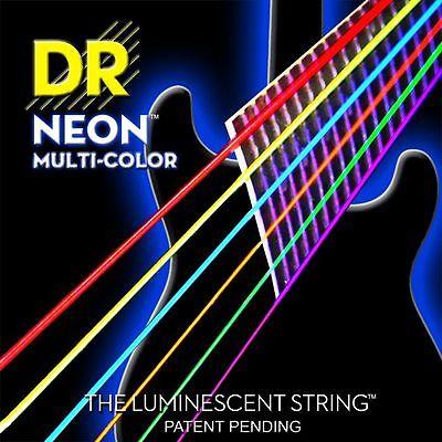 rocksmith compatible multi coloured electric guitar strings medium gauge 010 046. Black Bedroom Furniture Sets. Home Design Ideas